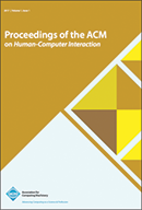 Proceedings of the ACM on Human-Computer Interaction